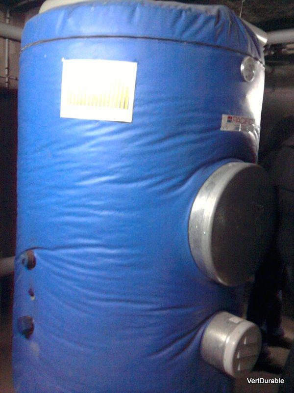 """Ballons de stockage de l'eau """"solaire"""""""