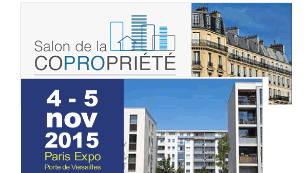Vertdurable au salon de la copropri t 4 et 5 novembre for Porte de versailles salon des vignerons independants 2015