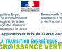 Reconduction du Crédit d'impôt pour travaux de rénovation énergétique pour 2017