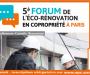 FORUM DE l'ÉCO-RÉNOVATION EN COPROPRIÉTÉ 2017