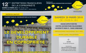 Entretiens annuels FNAIM Ile de France