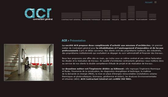 ACR Etudes thermique & Audits énergétiques