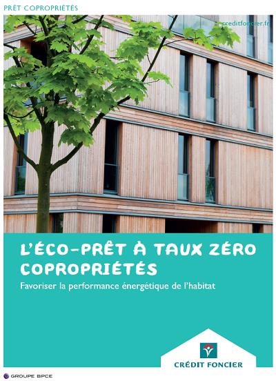 ECO PTZ Collectif du crédit foncier